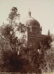 Larkhana, Shikarpur District, Sindh. Tomb of Shah Baharo